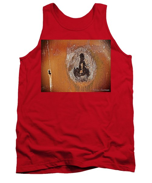 Tank Top featuring the photograph Imprintable by Delona Seserman