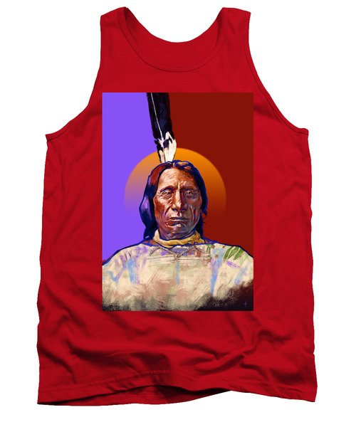 In The Name Of The Great Spirit Tank Top