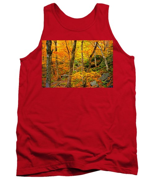 In The Woods Tank Top by Bill Howard