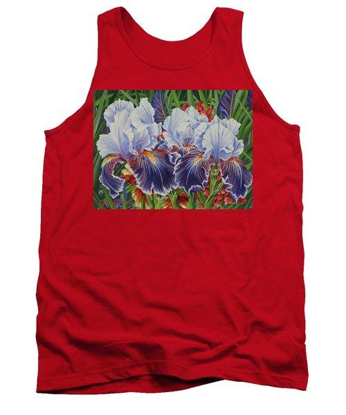 Iris Blooms Tank Top
