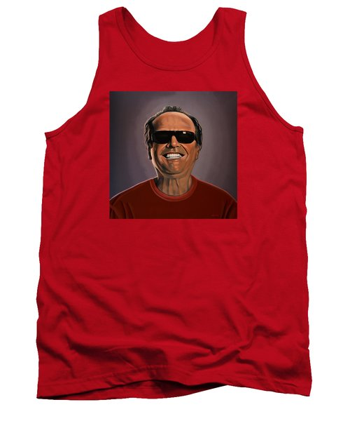 Jack Nicholson 2 Tank Top by Paul Meijering