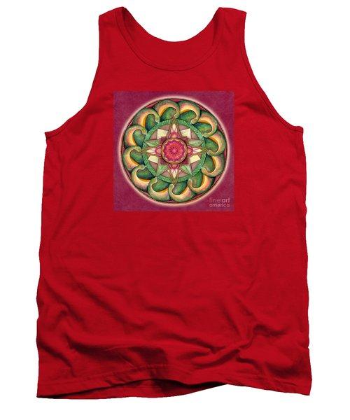 Jewel Of The Heart Mandala Tank Top