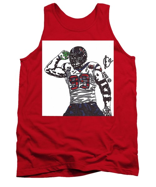 Jj Watt 1 Tank Top