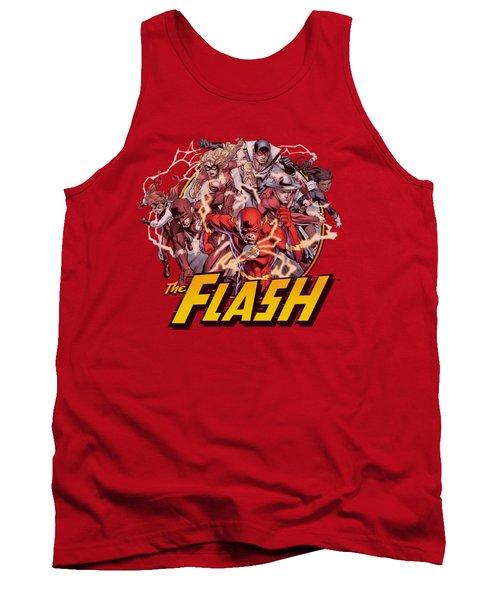 Jla - Flash Family Tank Top