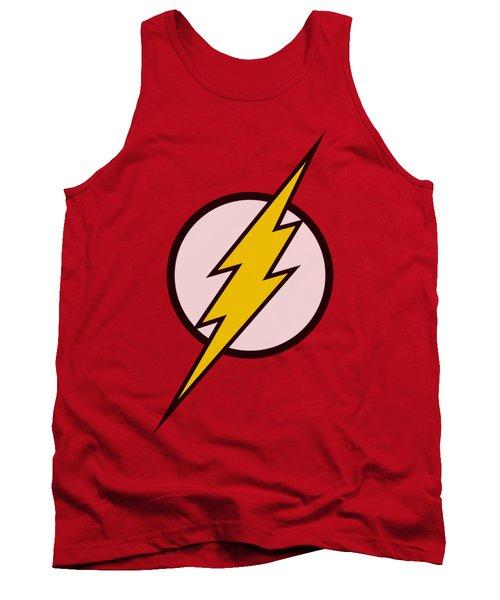 Jla - Flash Logo Tank Top