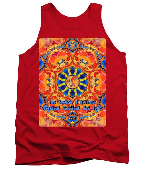 Joseph J Stevens Magical Mystical Art Tour 2014 Tank Top