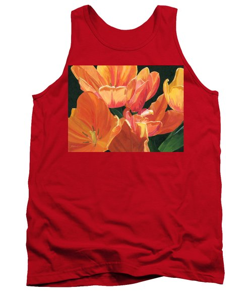 Julie's Tulips Tank Top