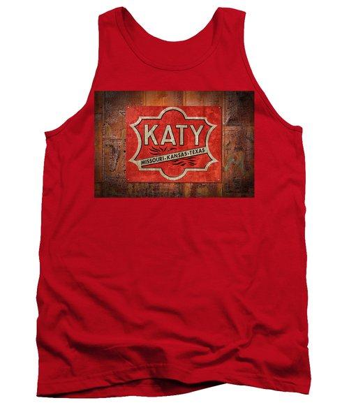 Katy Railroad Sign Dsc02853 Tank Top