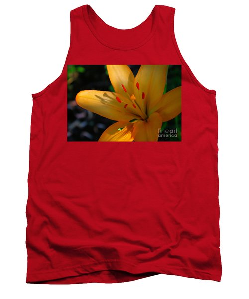 Tank Top featuring the photograph Kenilworth Garden One by John S