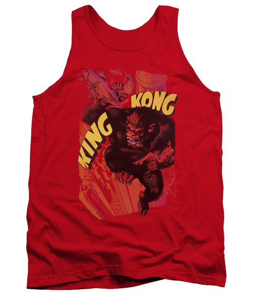 King Kong - Plane Grab Tank Top by Brand A