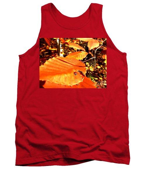 Ladybug At Fall Tank Top