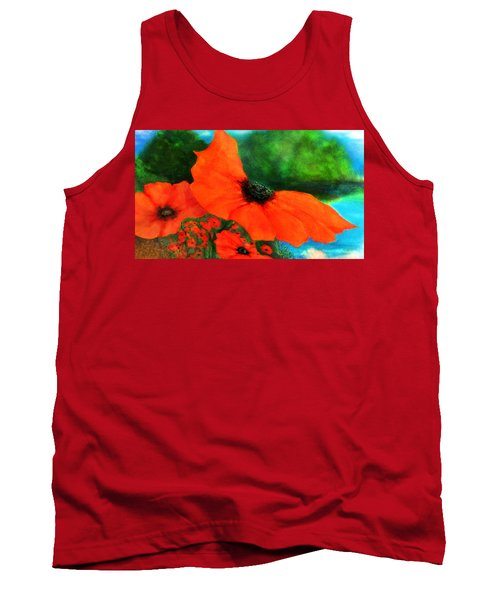 Lakeside Bloom Tank Top