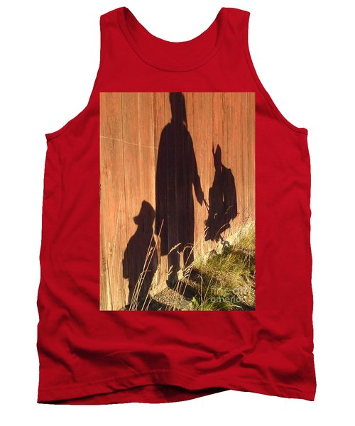Tank Top featuring the photograph Late Summer Walk by Martin Howard