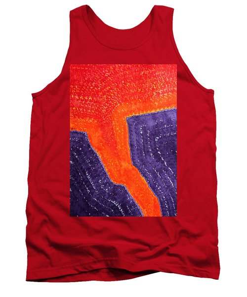 Lava Flow Original Painting Tank Top