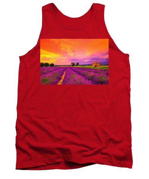 Lavender Sunset Tank Top