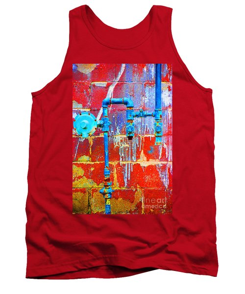 Tank Top featuring the photograph Leaky Faucet by Christiane Hellner-OBrien