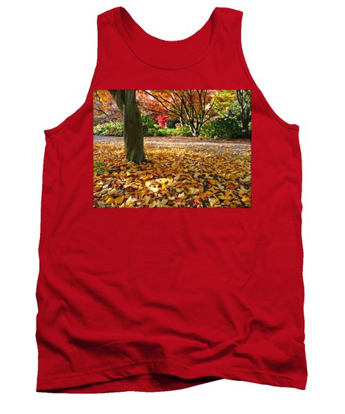 Leaves And More Leaves Tank Top