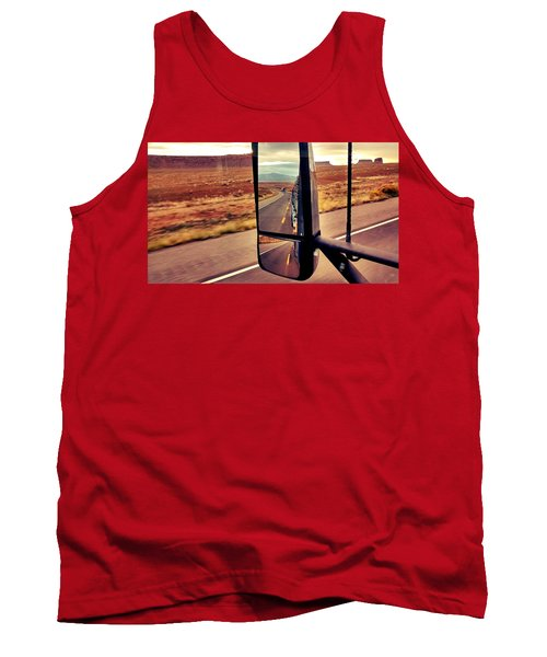 Life In My Rearview Mirror Tank Top