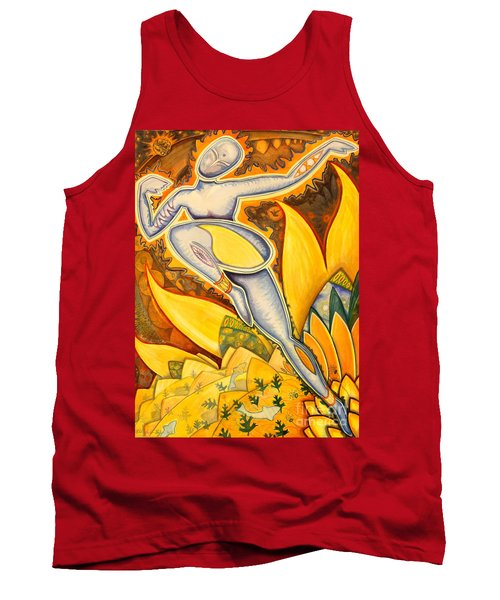 Life Is A Pure Flame Tank Top by Mark Stankiewicz
