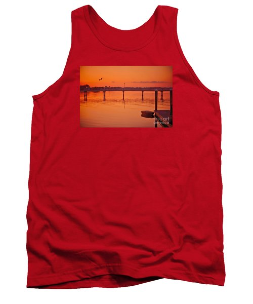 Little Red Boat Tank Top