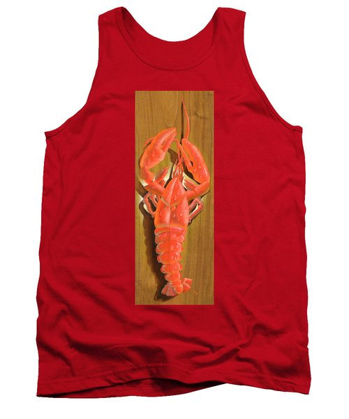 Lobster On A Plank Tank Top