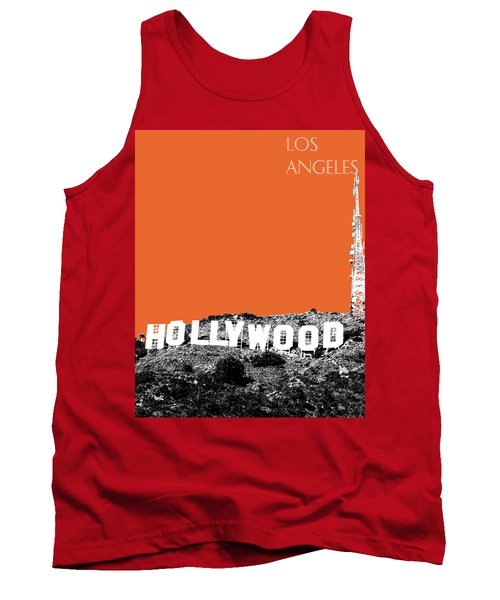 Los Angeles Skyline Hollywood - Coral Tank Top