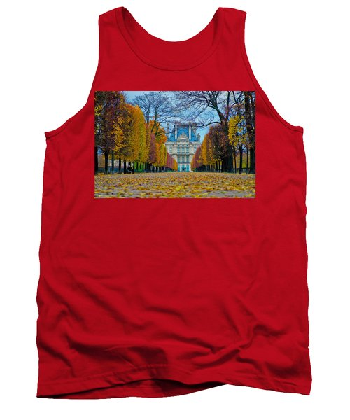 Louvre In Fall Tank Top
