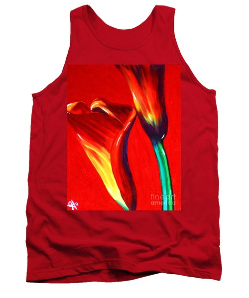 Love Lilies Tank Top by Jackie Carpenter