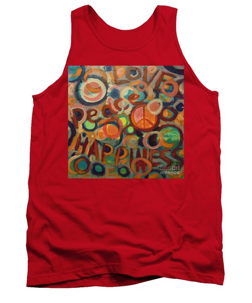 Love Peace Happiness Tank Top