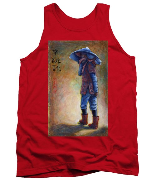 Lucky Red Boots Tank Top