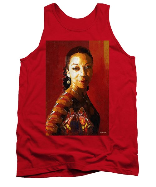 Madame Exotic Tank Top by RC deWinter