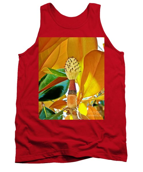 Tank Top featuring the photograph Magnolia Flower by Olga Hamilton