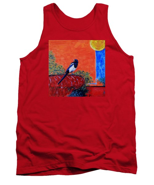 Magpie Singing At The Bath Tank Top
