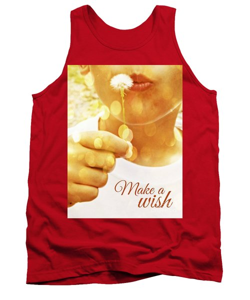 Make A Wish Tank Top by Valerie Reeves