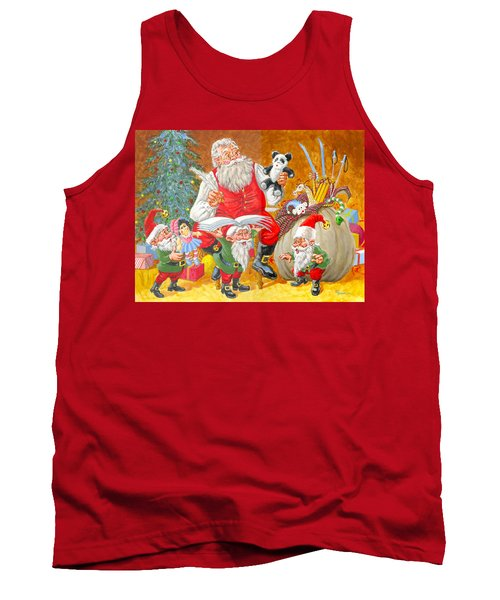 Making A List Checking It Twice Tank Top