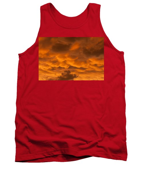 Mammatus Clouds Tank Top by Paul Rebmann