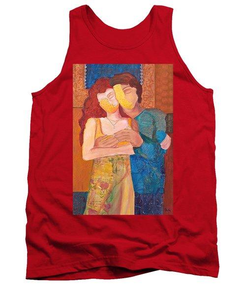 Man And Woman Tank Top