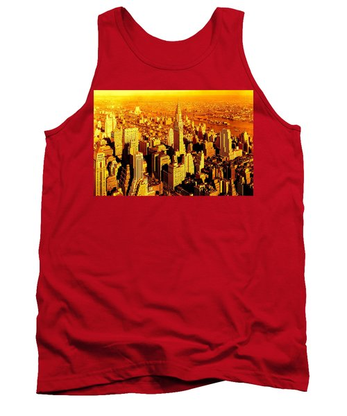 Manhattan And Chrysler Building Tank Top
