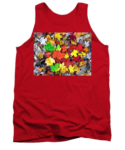 Tank Top featuring the photograph Maple Carpet by Jackie Carpenter