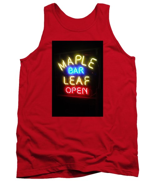 Maple Leaf Bar Tank Top