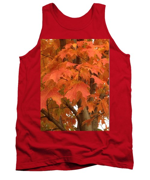 Maple Orange Tank Top