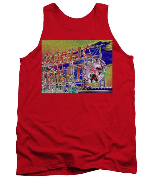 Market Clock 1 Tank Top