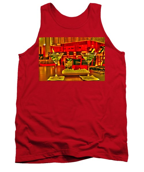 Martini Time Tank Top