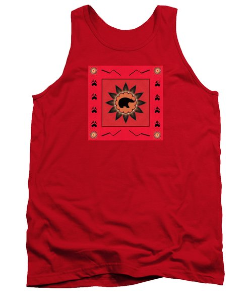 Tank Top featuring the photograph Mato Wakan . . Sacred Grizzly  by I'ina Van Lawick