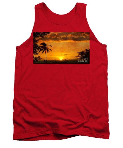 Maui Sunset Dream Tank Top by Peggy Hughes