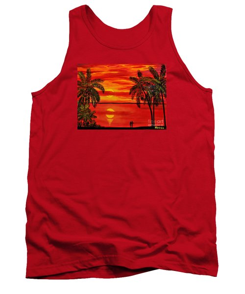 Maui Sunset Tank Top