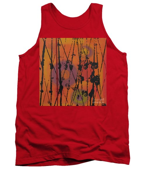 Tank Top featuring the painting Maya 1 by Mini Arora