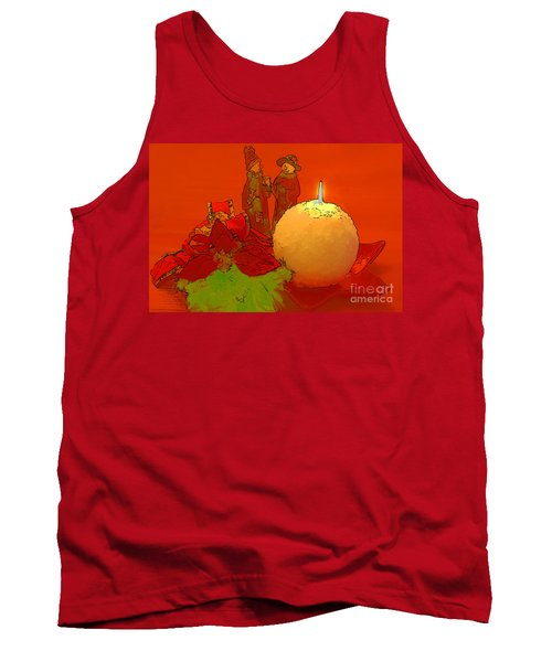 Tank Top featuring the photograph Merry Christmas by Teresa Zieba