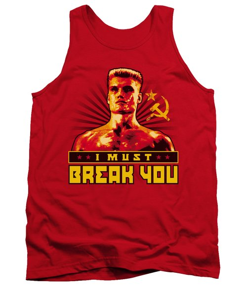 Mgm - Rocky - I Must Break You Tank Top