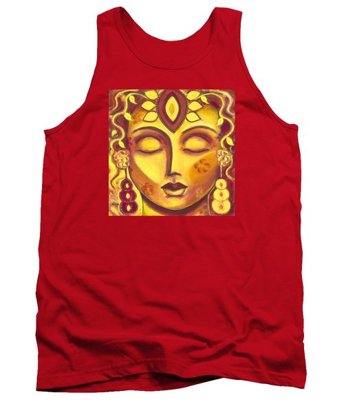 Tank Top featuring the painting Mining Your Jewels by Anya Heller